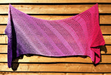 Florence Shawl Pattern - Instant Download