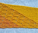 Mixed Up Shawl Pattern - Instant Download