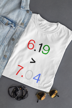 Load image into Gallery viewer, Juneteenth White Tee (unisex)