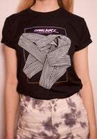 Small Black - Ribbon 2020 T-Shirt (BLACK)