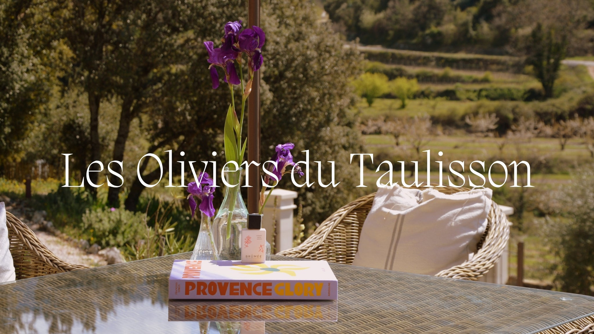 image of les Oliviers du Taulisson with the name written on it