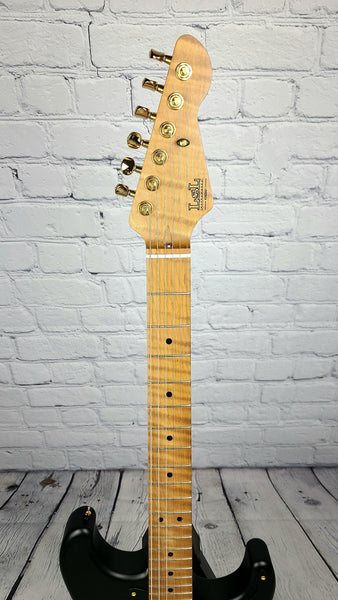 LsL Saticoy One HSS Limited Blackout - Roasted Maple Neck