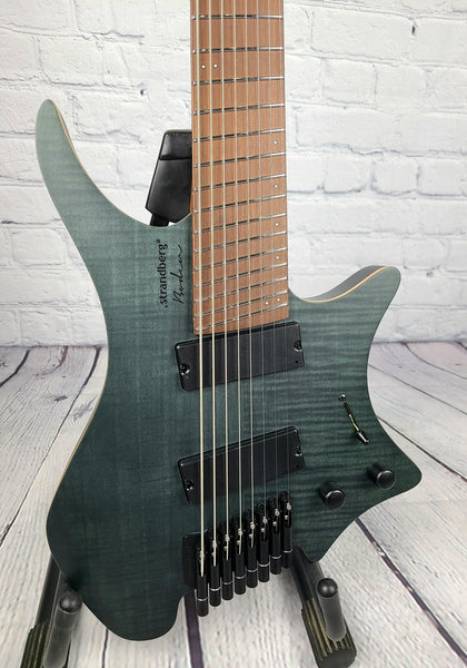 Strandberg Boden Standard 8 String Flame Maple Trans Black