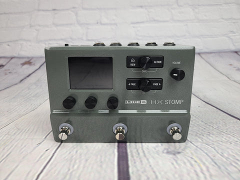 Line 6 HX Stomp Pedal Limited Edition Gray