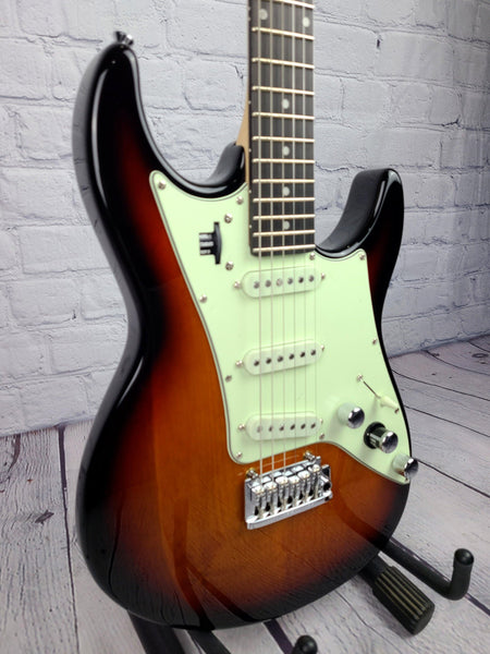 Line 6 JTV-69S JAMES TYLER VARIAX 3-TONE SUNBURST EBONY FB