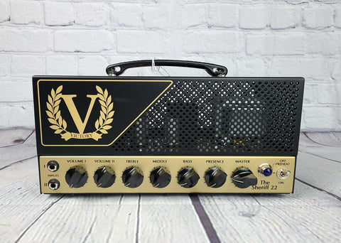 Victory Amplification Sheriff 22 Lunchbox Tube Amp Head