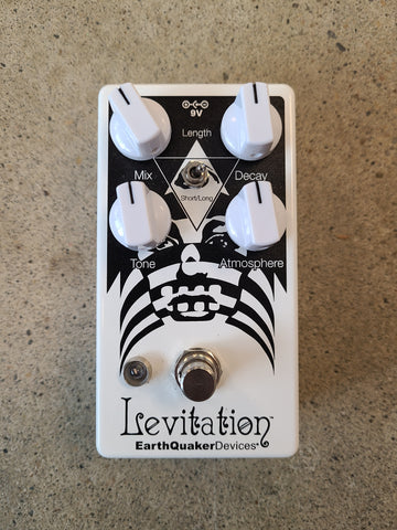 USED Earthquaker Devices Levitation V2 Reverb Pedal