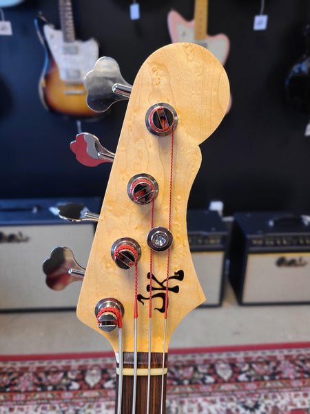 Jeff Kavanaugh JK Guitars Vintage J Classic Jazz Bass