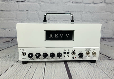 Revv Amplification D20 Lunchbox Tube Amplifier Head