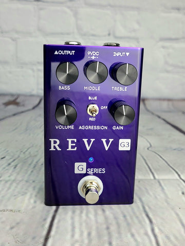 Revv Amplification G3 Overdrive Preamp Pedal