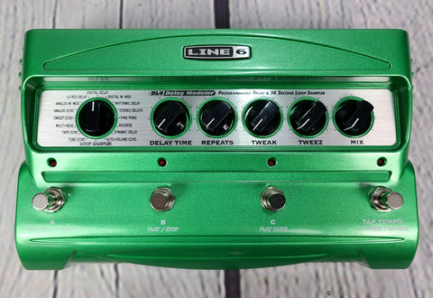 Line 6 DL4 Stompbox Modeling Delay Pedal