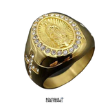 Bague Religieuse Or<br> Vierge Marie