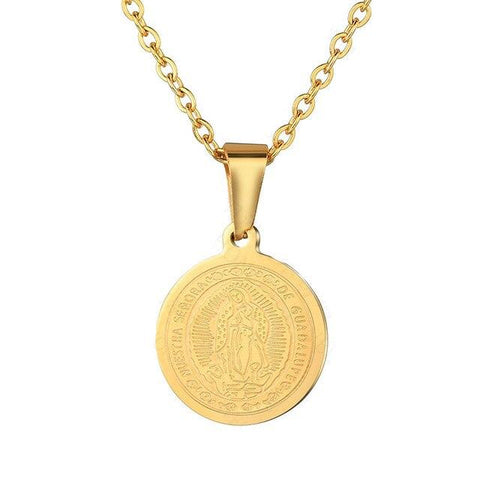 Médaille Miraculeuse<br> Vierge Marie Or