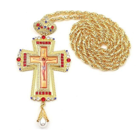 Collier Croix Orthodoxe Traditionnelle