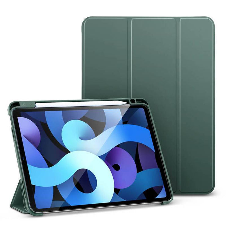 TeckApe™ iPad Air 4 (2020) Rebound Pencil Case TECK APE Olive Green