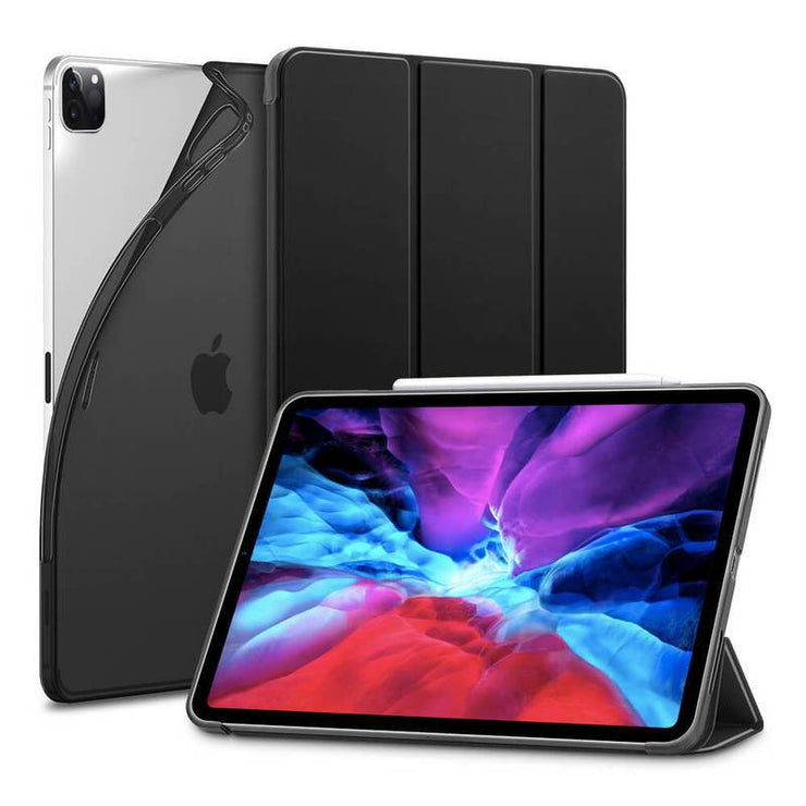 "TeckApe™ iPad Pro 12.9"" 2020 Rebound Slim Smart Case TECK APE Black"