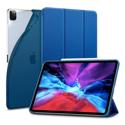 "TeckApe™ iPad Pro 12.9"" 2020 Rebound Slim Smart Case TECK APE Blue"