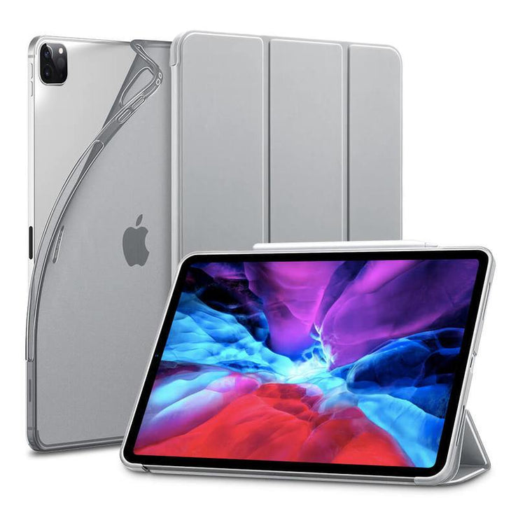"TeckApe™ iPad Pro 12.9"" 2020 Rebound Slim Smart Case TECK APE Grey"