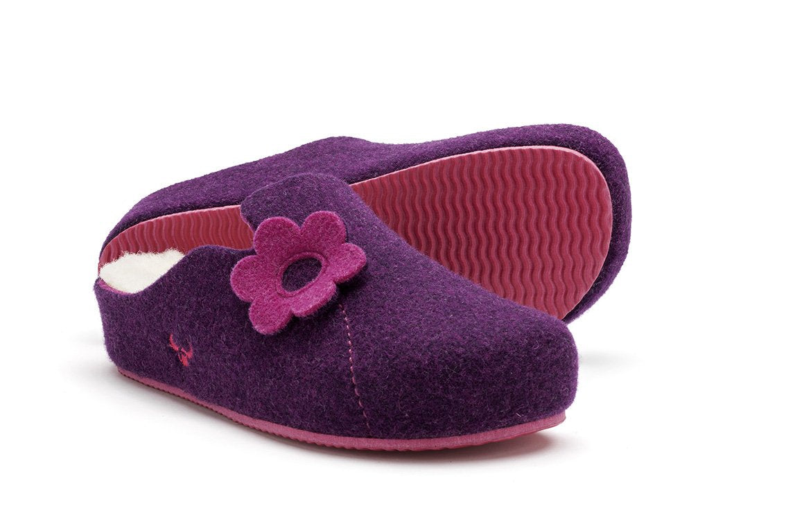 Sansa Heel Ecological Wool (Violett)