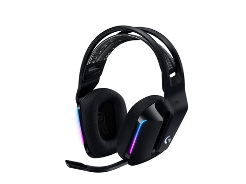 G733 LIGHTSPEED Wireless RGB Gaming Headset - Black