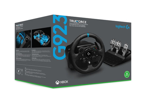 Logitech G923 X Racing Wheel and Pedals