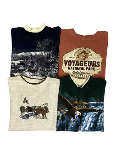 Vintage Animal Sweatshirt Bundle