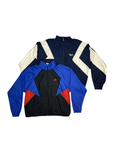 Vintage Sport Branded Nylon Jacket Bundle