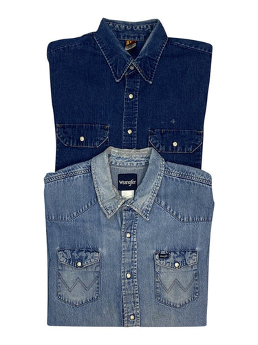 Vintage Denim Shirts Bundle