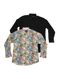Vintage All Over Printed Cotton Shirts Bundle