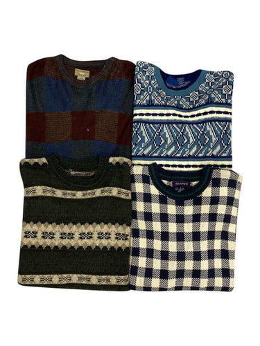Vintage All Over Printed Crewneck Sweater Bundle