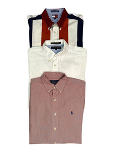Vintage Ralph Lauren and Tommy Hilfiger Shirts Bundle