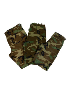 Vintage Camo Military Pants Bundle