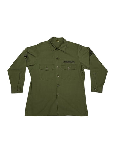 Vintage Green Military Shirt Bundle