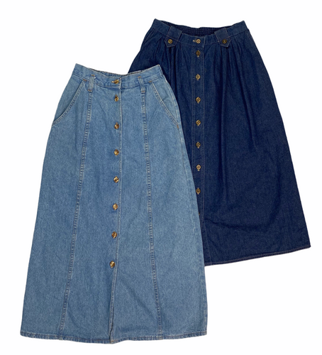 Vintage Denim Skirt Bundle