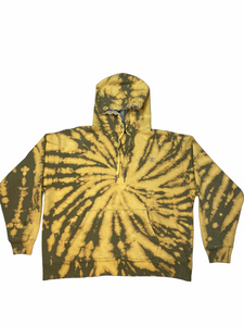 Vintage Tie Dye Brand Hooded Sweatshirt Bundle
