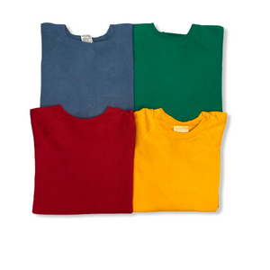 Vintage Solid Crewneck Sweatshirt Bundle