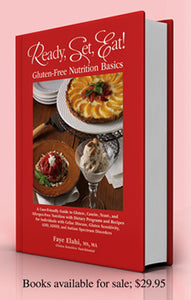 Ready, Set, Eat: Gluten-free Nutrition Basics- book