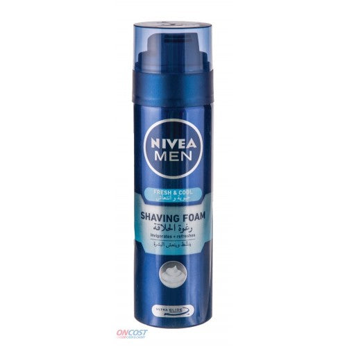 Nivea Men Fresh & Cool Shaving Foam 200ml