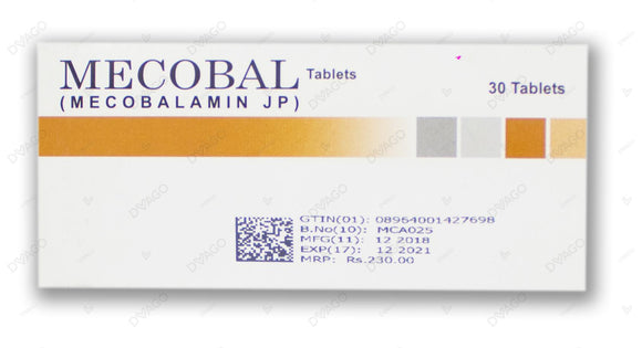 Mecobal Tablets 30's