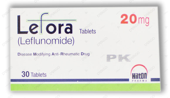 Lefora Tablets 20mg 30's