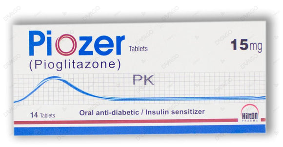 Piozer Tablets 15mg 14's