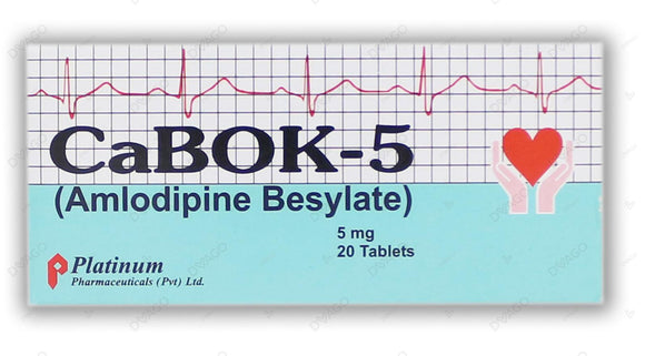 Cabok Tablets 5mg 2X10's