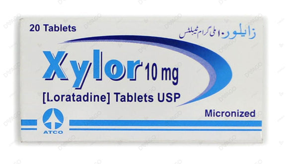 Xylor Tablets 10mg 2X10's