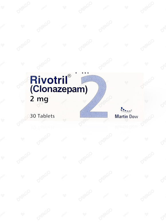 Rivotril Tablets 2mg 30's