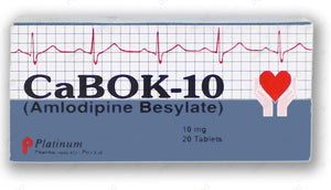 Cabok Tablets 10mg 2X10's