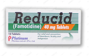 Reducid Tablets 40mg 10's