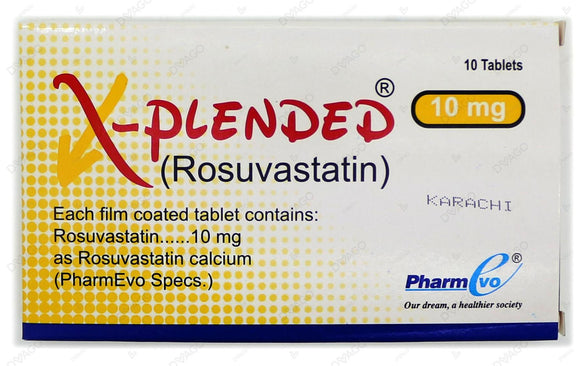 X-Plended Tablets 10mg 10's