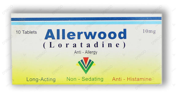 Allerwood Tablets 10mg 10's
