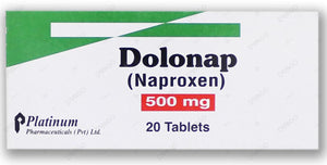 Dolonap 500mg Tablets 20's (naproxen)