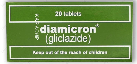 Diamicron Tablets 80mg 2X10's